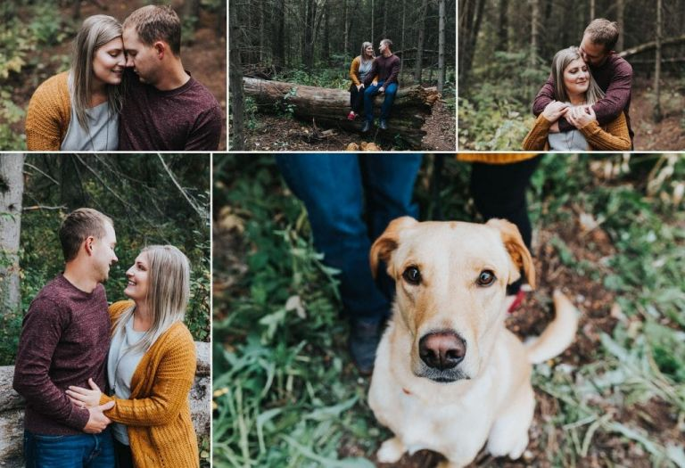 Edmonton Photographers - Engagement Photos in Whitemud Park