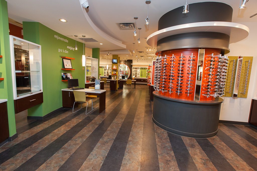 Interior Photography of Londonderry Eyecare