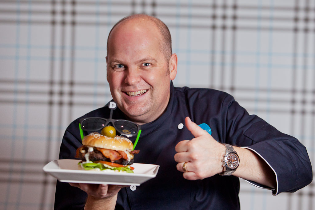 Commercial Photography for Delux Burger - Garner Andrews from Sonic Radio