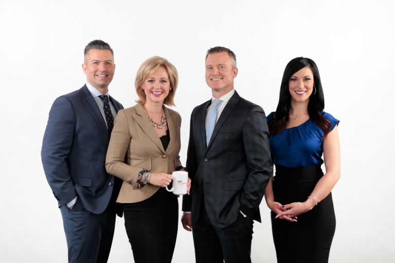 Team Photo for CTV Morning Live Edmonton