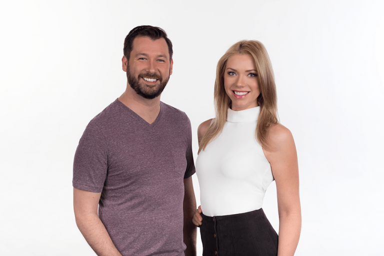 Edmonton Radio Hosts Ian MacKinnon & Chelsea Bird