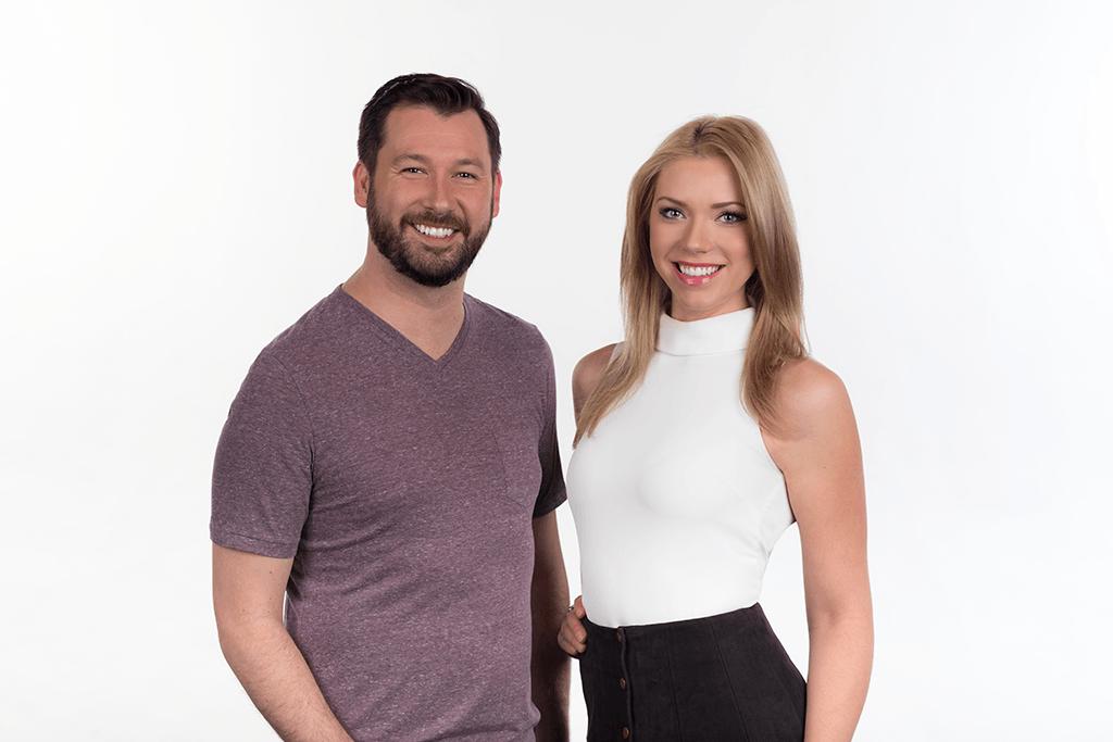 Edmonton Radio Hosts Ian MacKinnon & Chelsea Bird