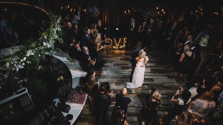 Wedding Photos at the Parlour Restaurant in Edmonton