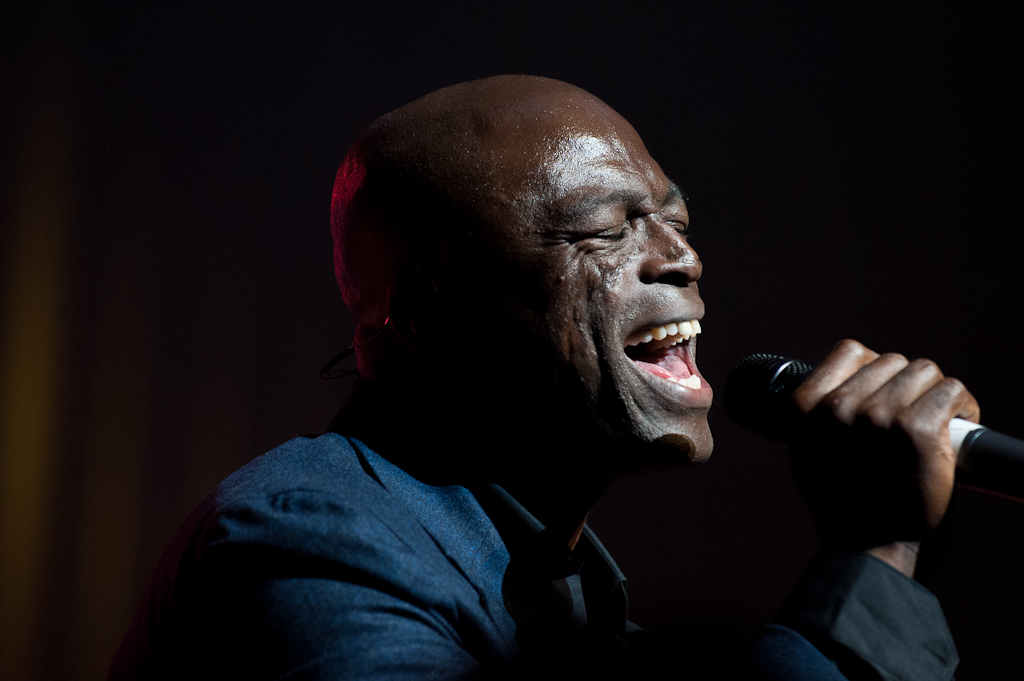 Edmonton Event Photography - Seal performs at the Winspear Centre