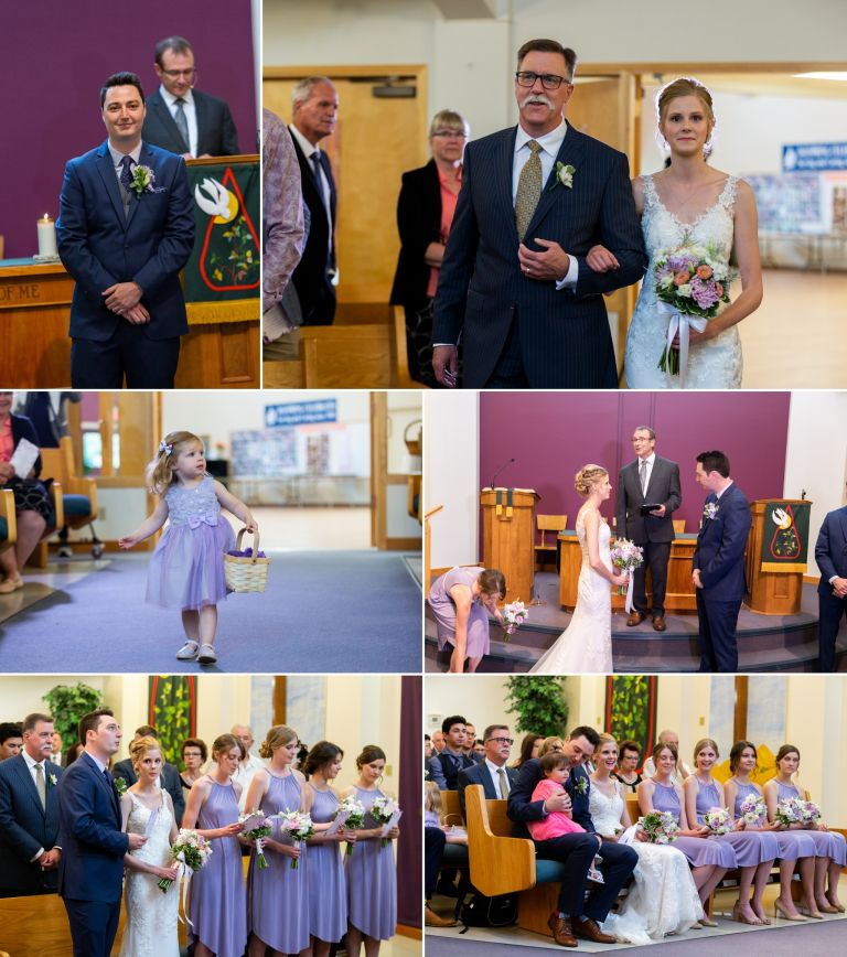 Wedding Photos at Dayspring Presbyterian Church in Edmonton
