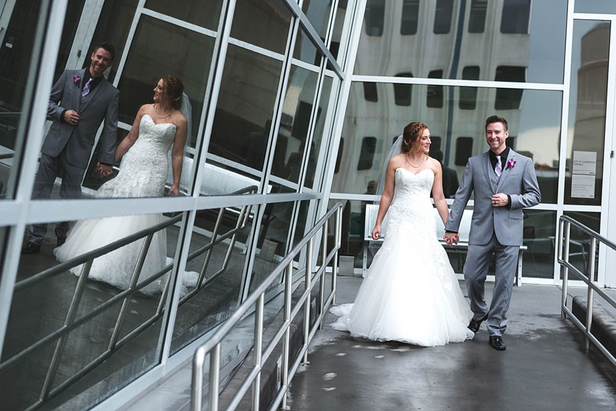 Wedding at the Art Gallery of Alberta - Melissa & Jesse