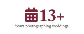 Wedding Photographs in Edmonton for 13 years